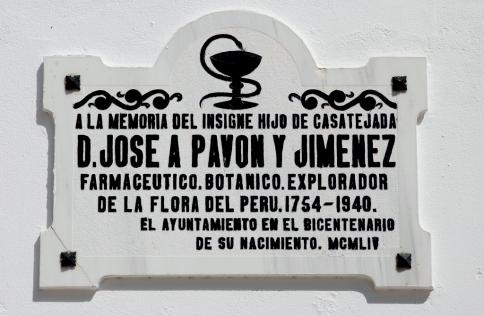 Placa_homenaje_a_José_Antonio_Pavón_(Casatejada,_Cáceres)