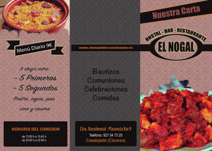 Restaurante el Nogal casatejada